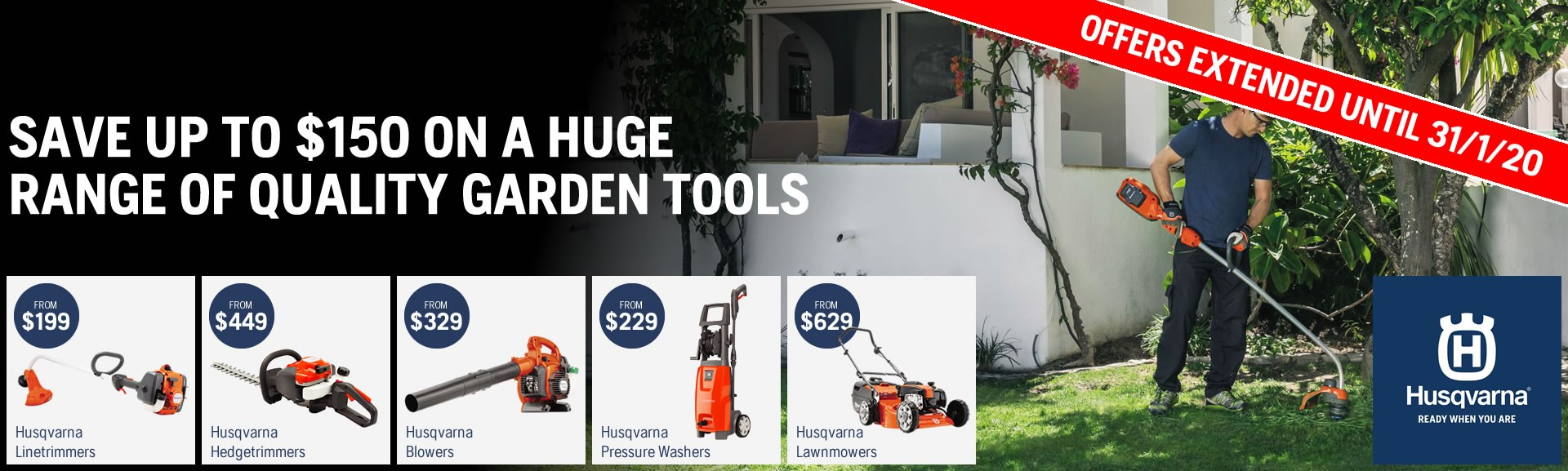 Husqvarna Spring Savings 2019