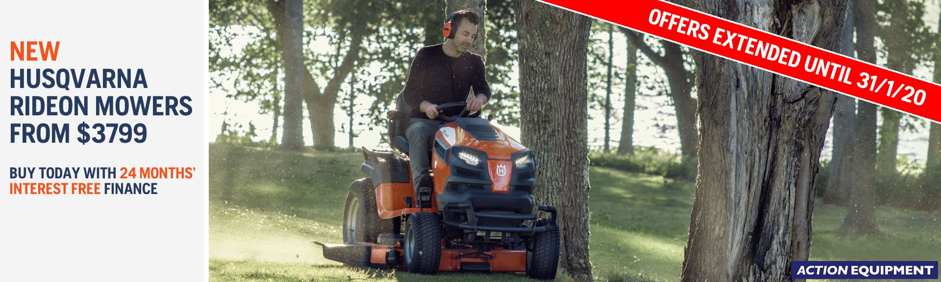 Husqvarna mower finance