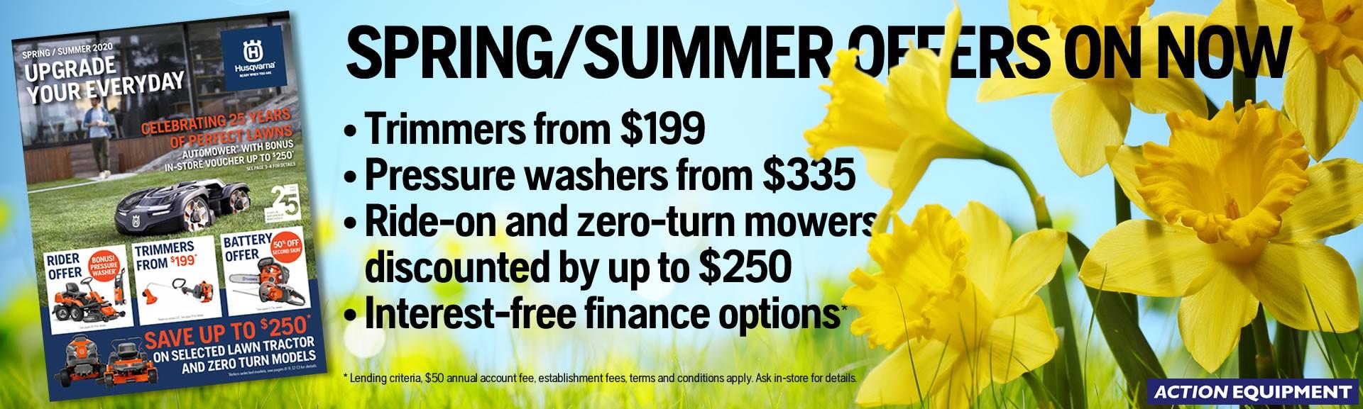 Husqvarna Spring Savings 2020