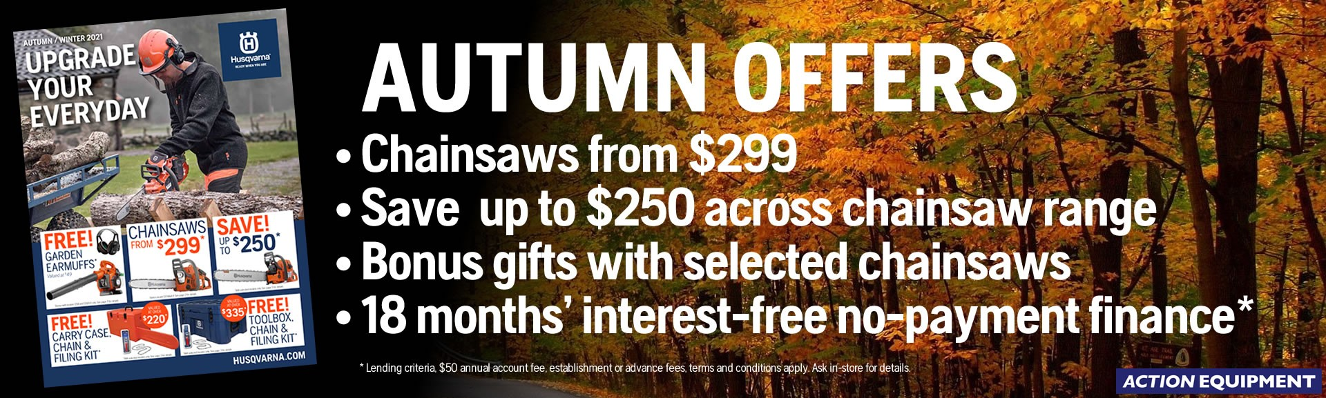 Husqvarna Autumn Savings 2021
