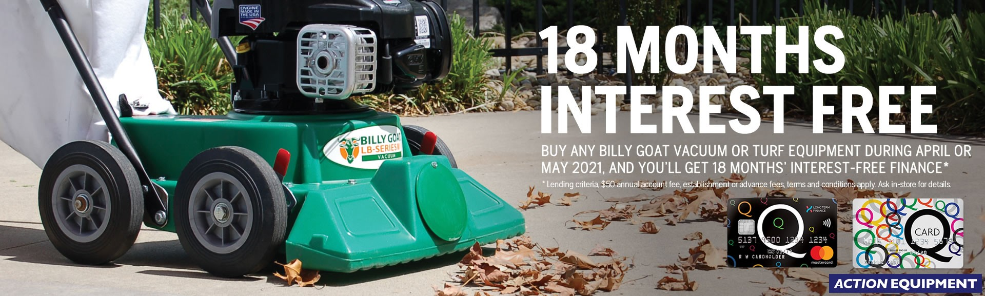 Billy Goat Q2 2021 finance offer