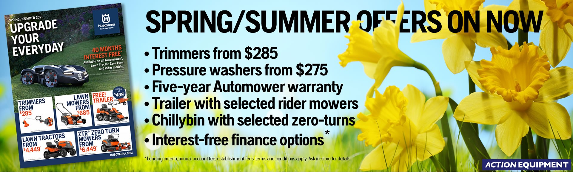 Husqvarna Spring Savings 2021